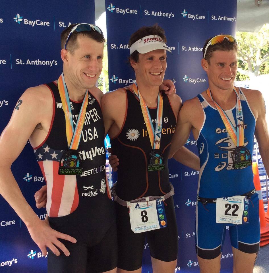 St Anthony's triathlon Floride: Victoire de Wild et Haskins, Von Berg 4ème
