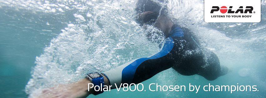 Polar V800, l'accessoire indispensable pour les nageurs
