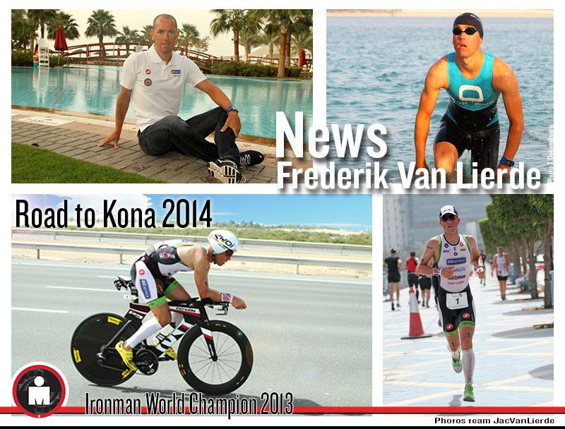 F.Van Lierde's news : road to Kona 2014…