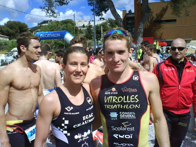 Triathlon de Vitrolles: Diemunsch et Bottin