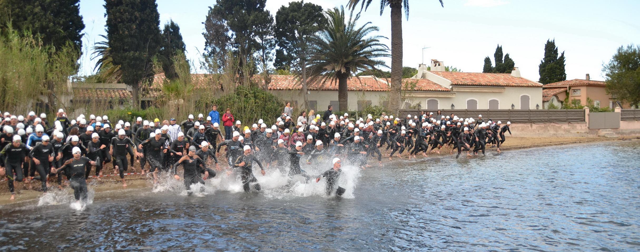 Triathlon S de Saint Tropez: Guérin en solitaire, Brien chez les dames…