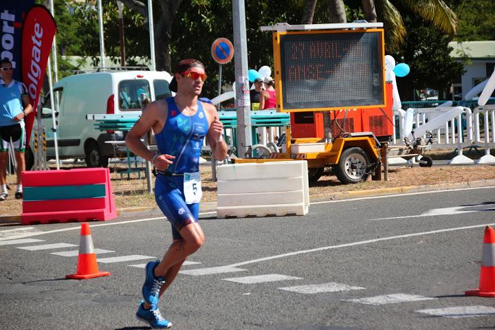 Triathlon de Nouméa: Audric Lucini sur un nuage