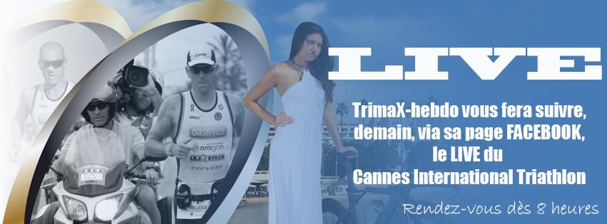 Cannes International Triathlon: suivez le LIVE