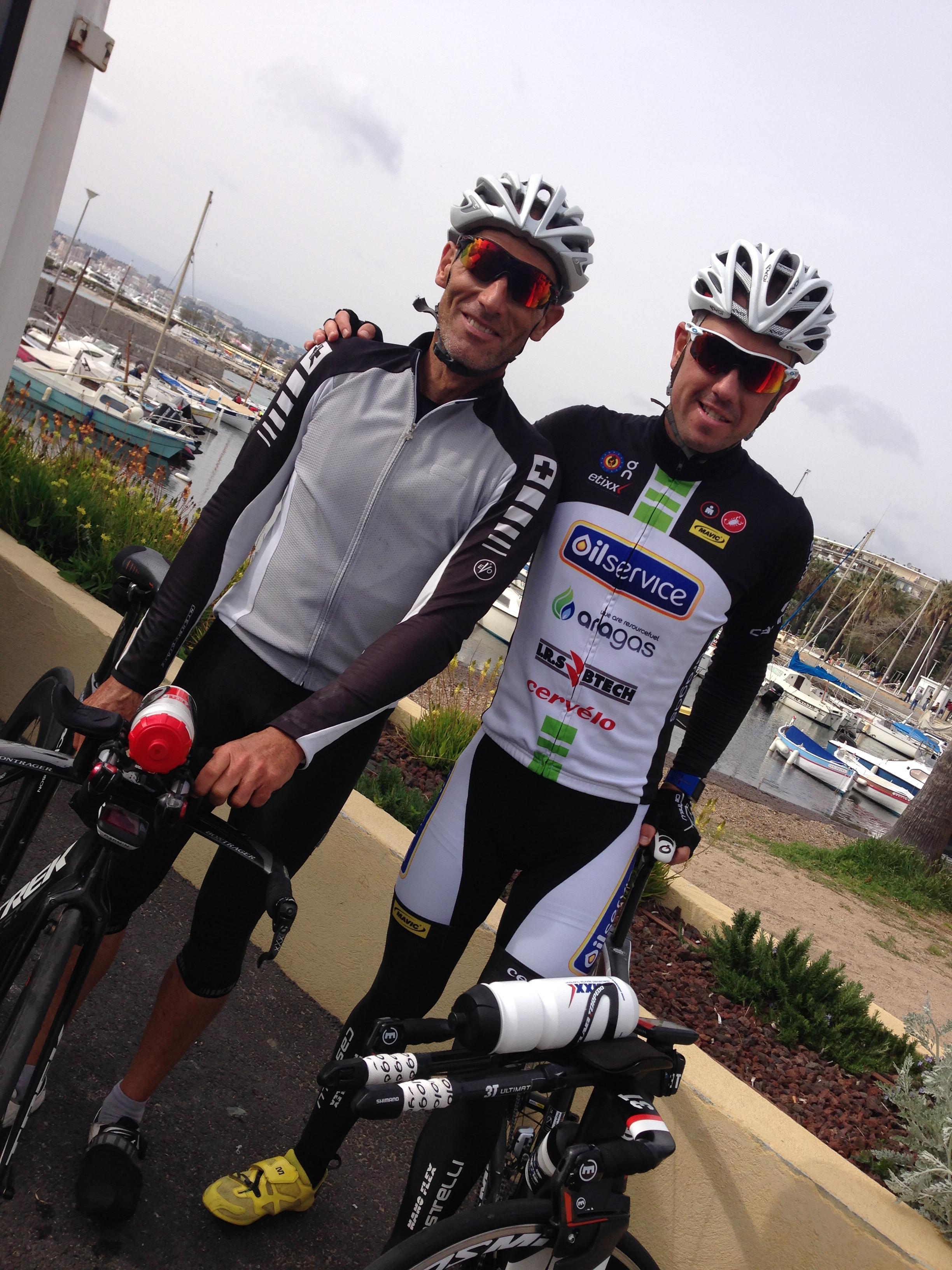 Cannes International Triathlon: reconnaissance vélo par le champion du Monde