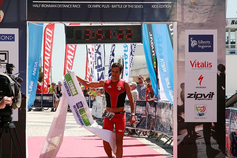 Triathlon de Lisbonne: Isabelle Ferrer 2ème