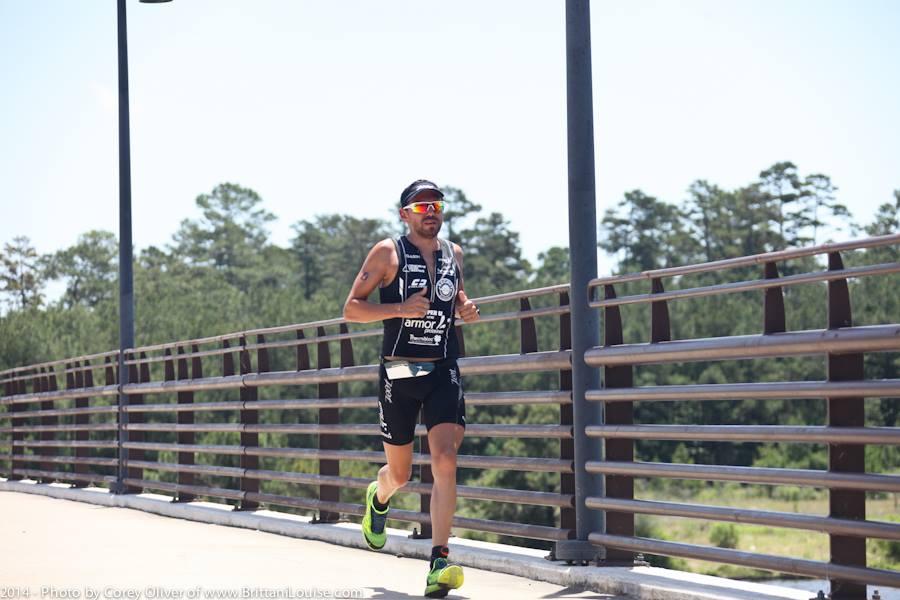 Mauvaise Journée sur l'Ironman du Texas pour José Jeuland