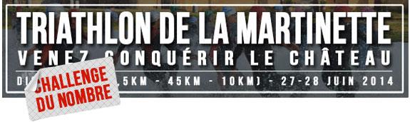 Triathlon de La Martinette (Var) – 28 Juin : Challenger du nombre!
