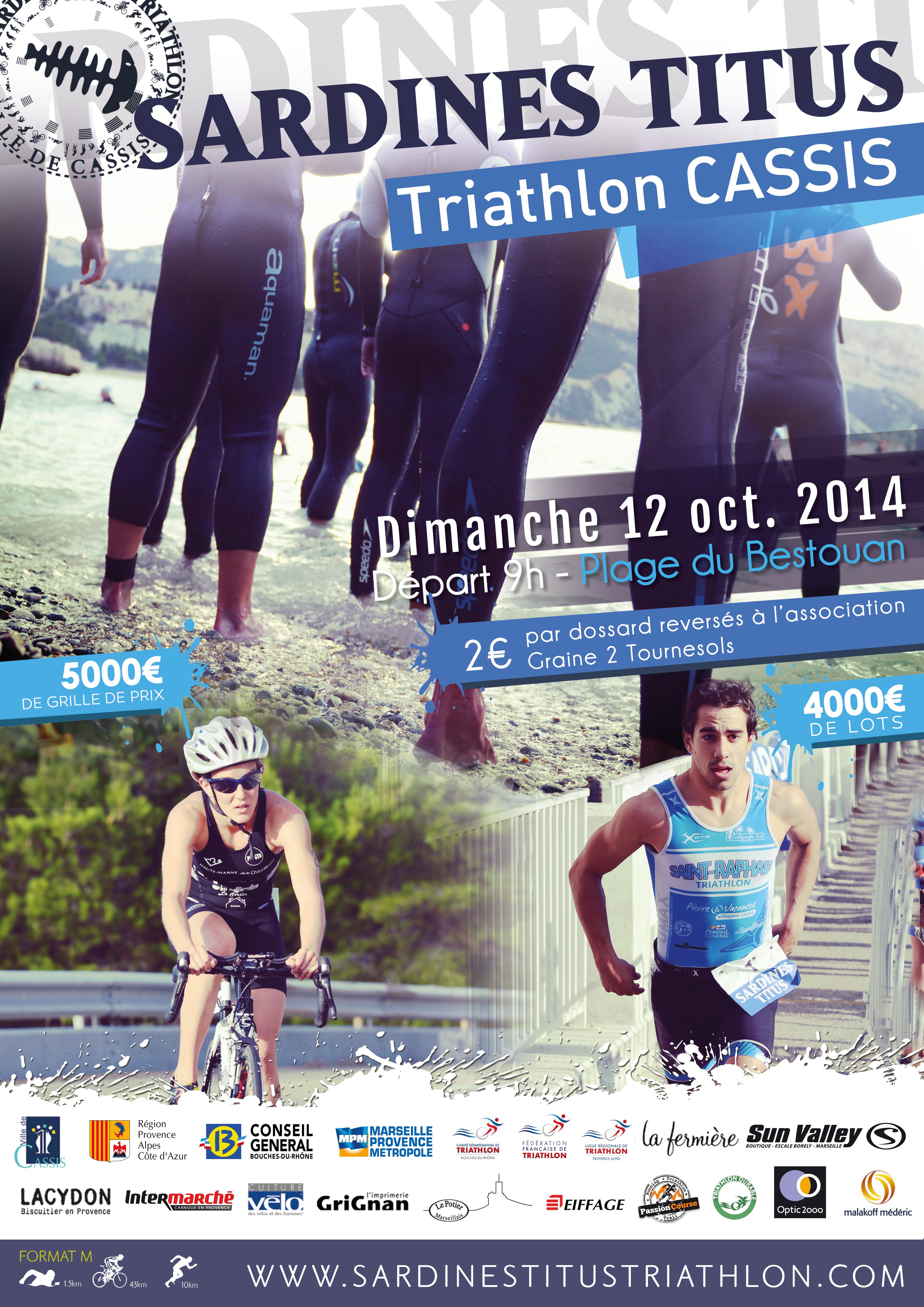 Sardines Titus Triathlon, c'est maintenant!!