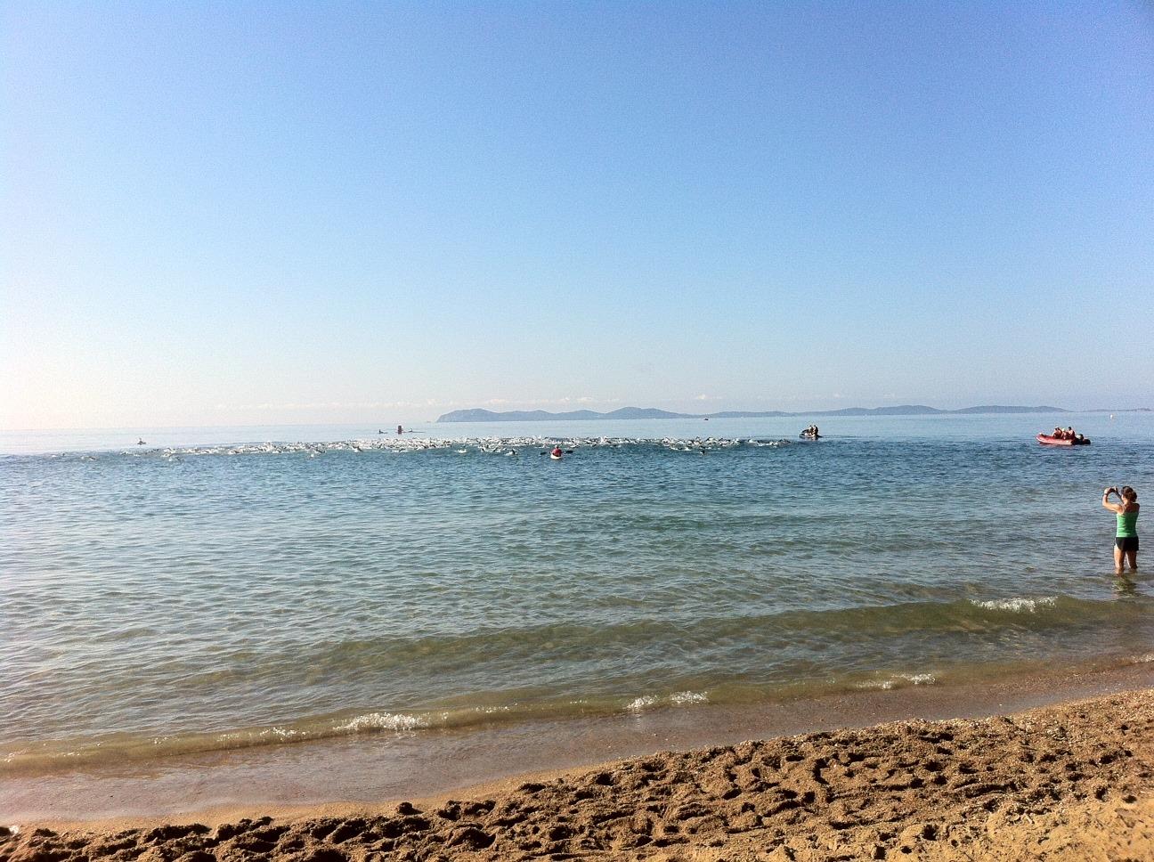 Triathlon L de Hyères: Victoire de Bousrez et Dodet