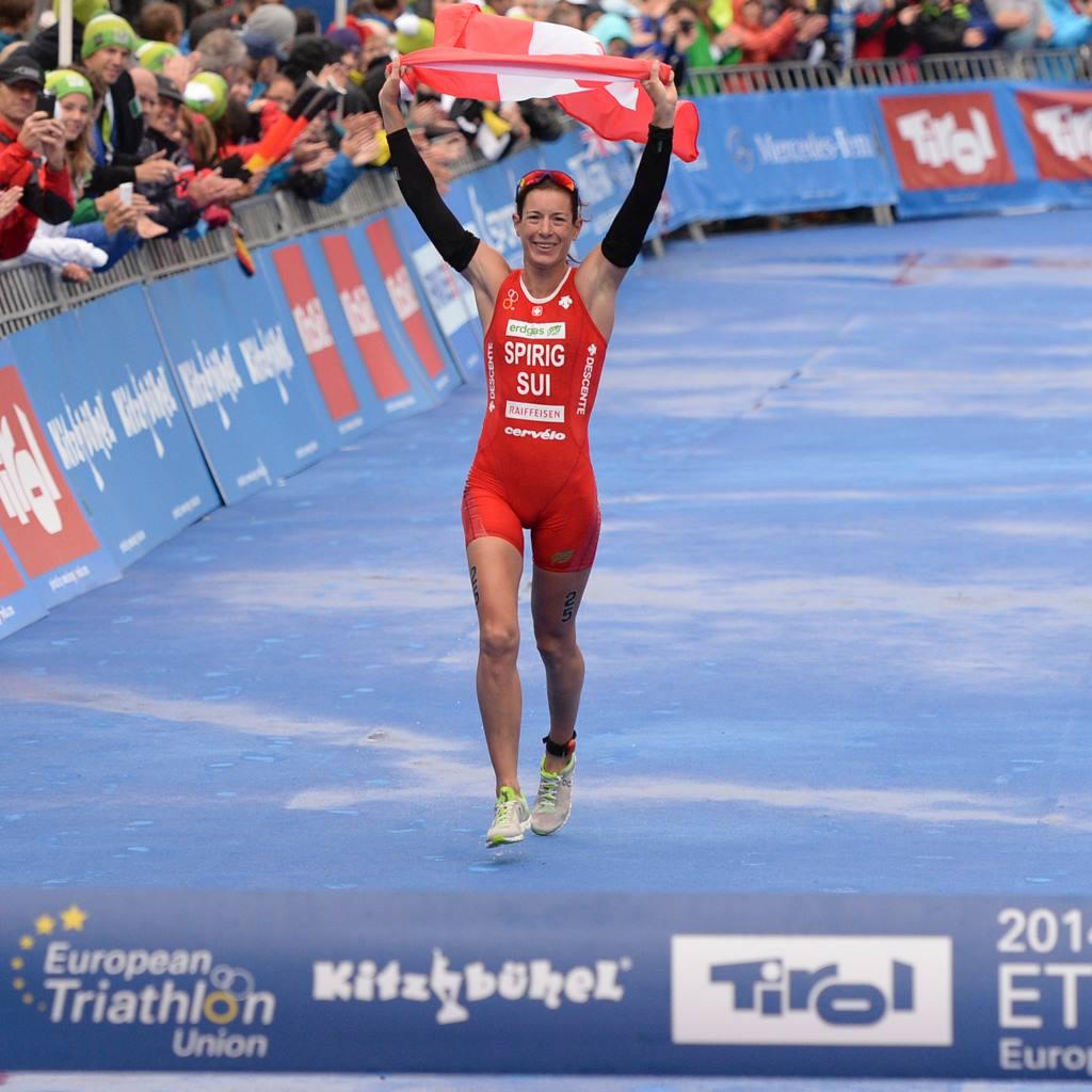 Championnat d'Europe ITU femmes à Kitzbühel: 2 médailles pour les juniors, Spirig est de retour !