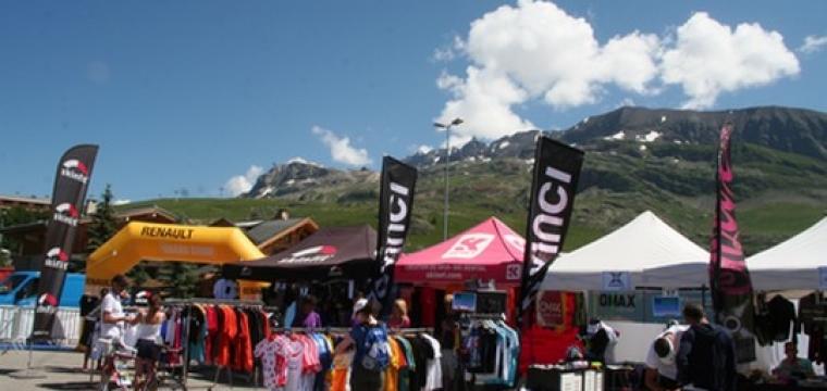 9e Triathlon EDF Alpe d'Huez : le rendez-vous est donné à nos nouveaux partenaires !