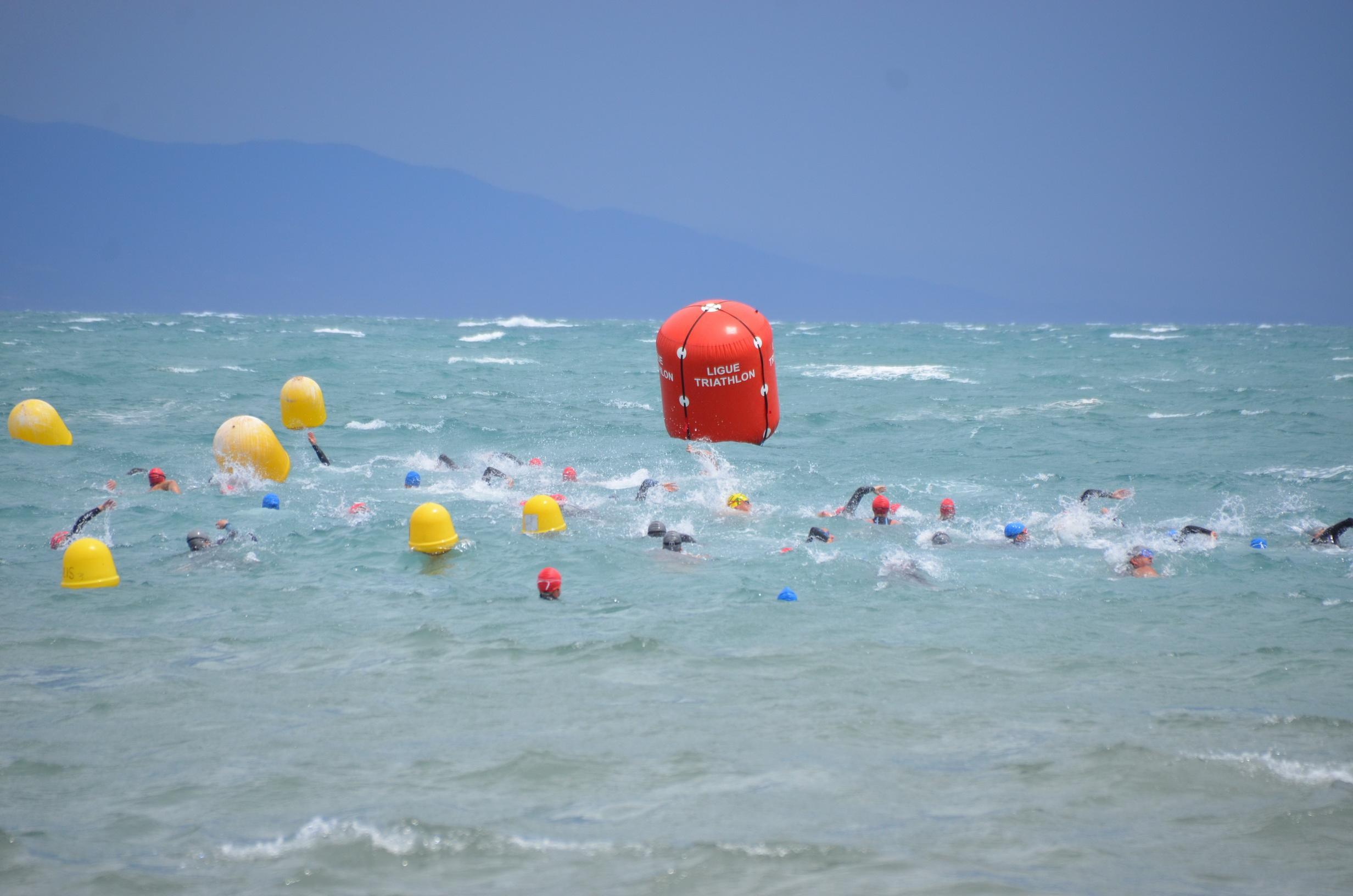 Aquaroc d'Antibes: aquathlon qualificatif pour les championnats de France jeunes