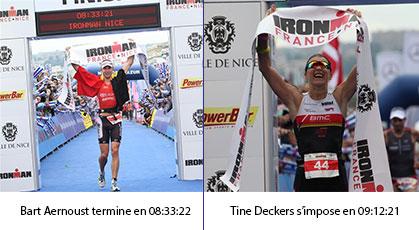 IRONMAN France Nice :  Deux athlètes belges illuminent la Promenade…