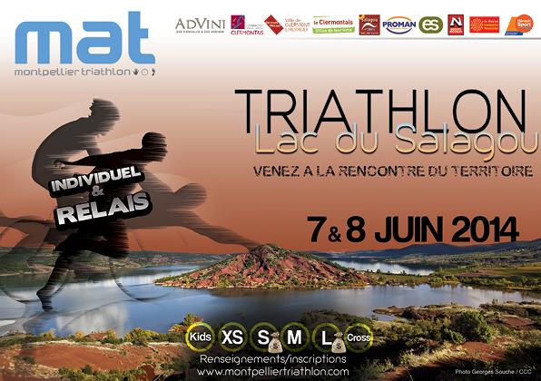 Triathlon du Salagou: Une réussite totale