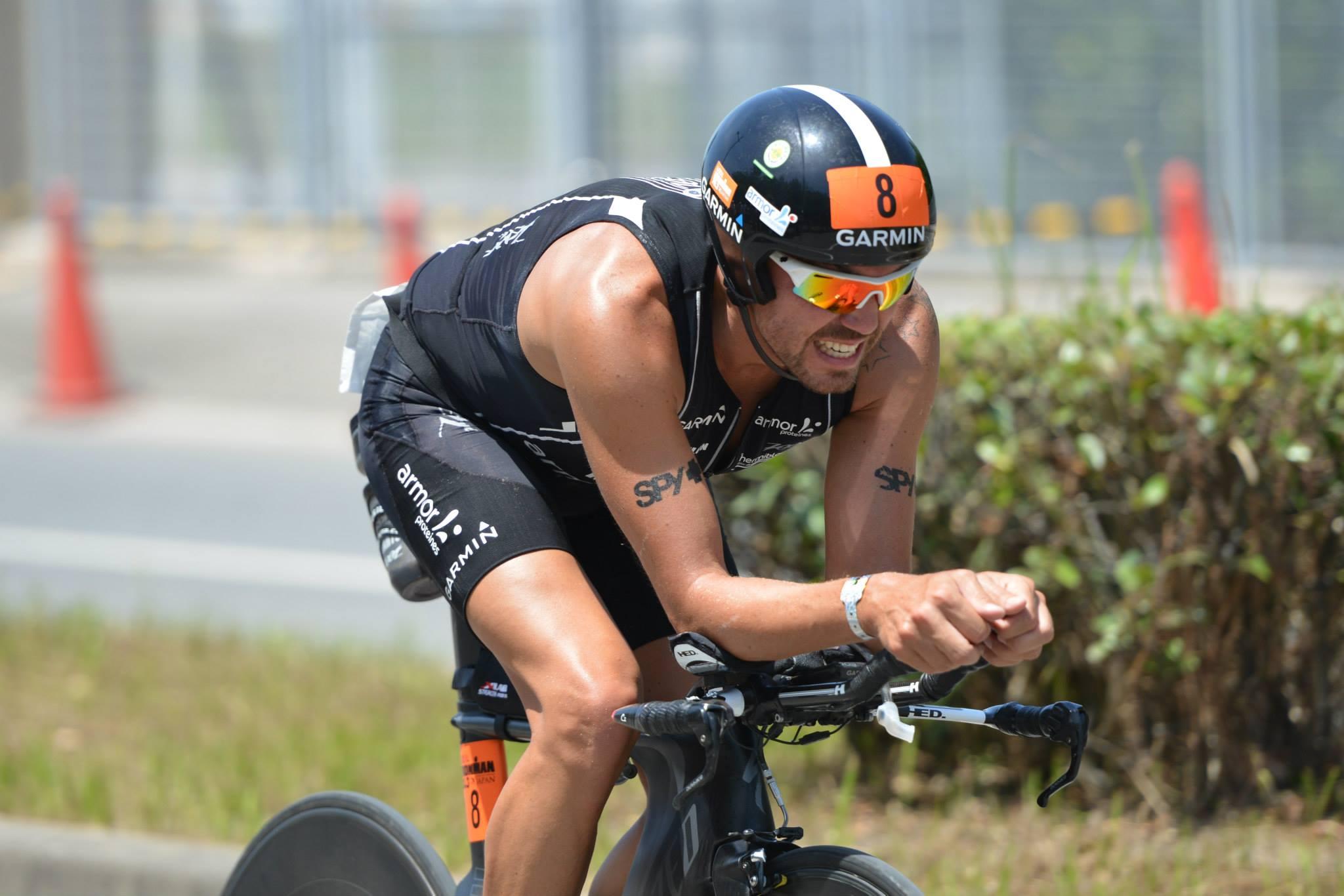 Triathlon Breizhman, José Jeuland brisé dans son élan.