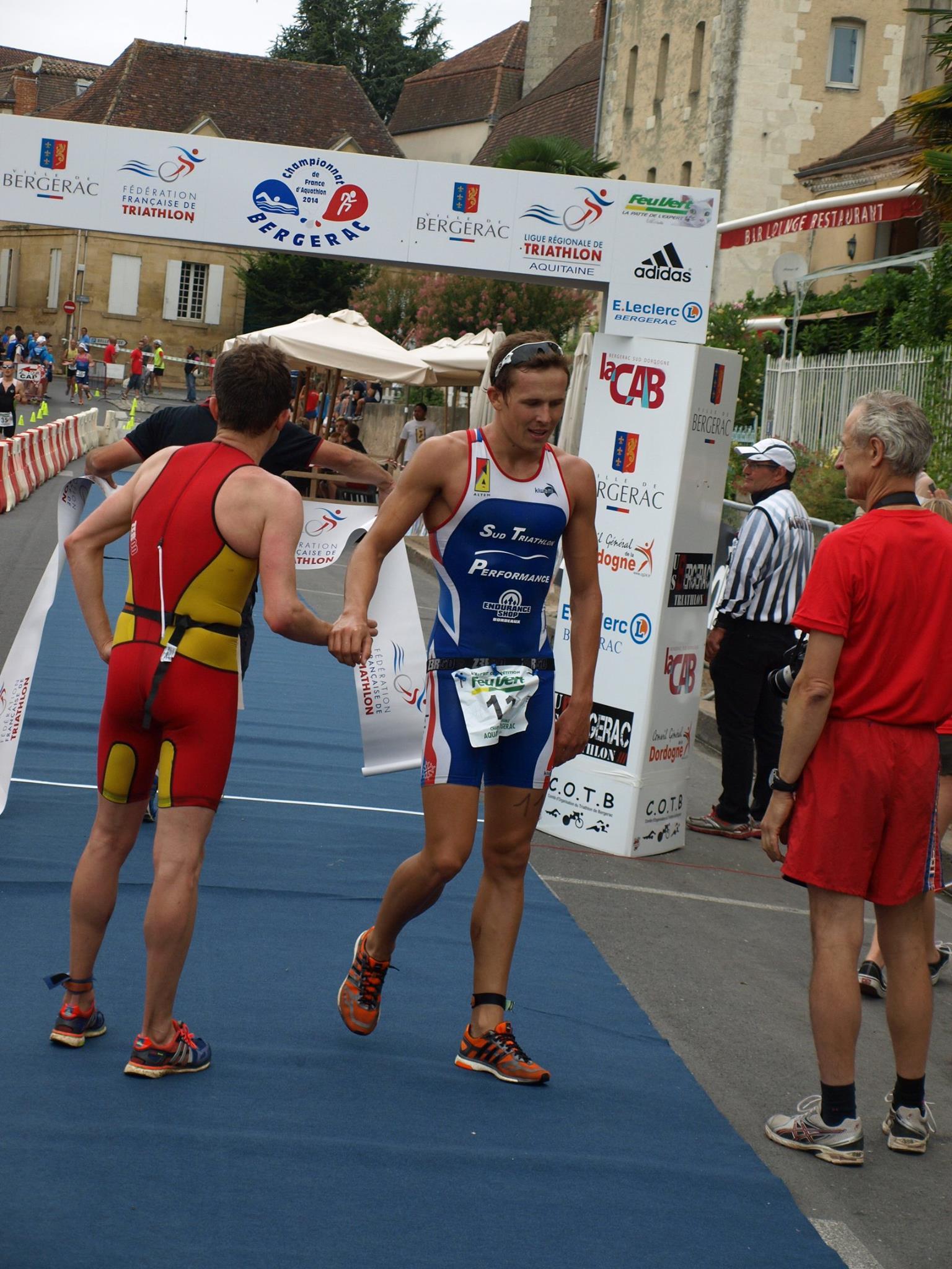 Championnat de France Aquathlon à Bergerac: Résultats