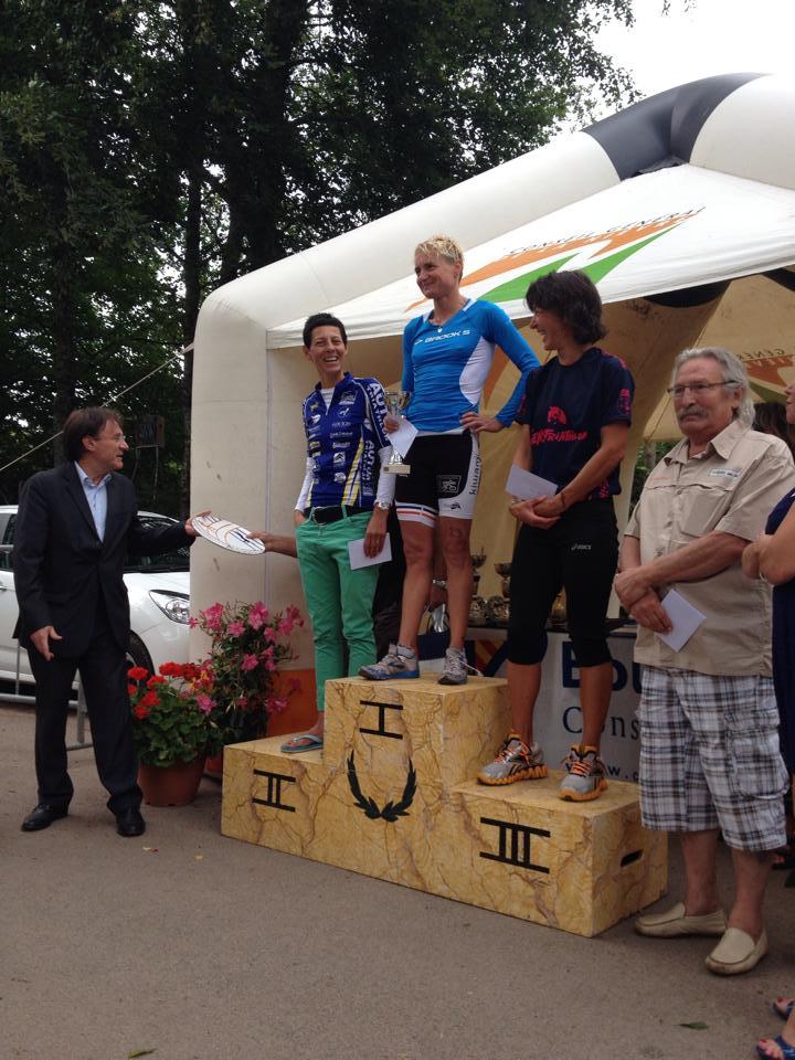 Triathlon M des Settons: Pannier et Ferrer