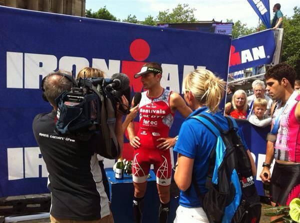 Ironman UK: Victoire de Cyril Viennot !!!