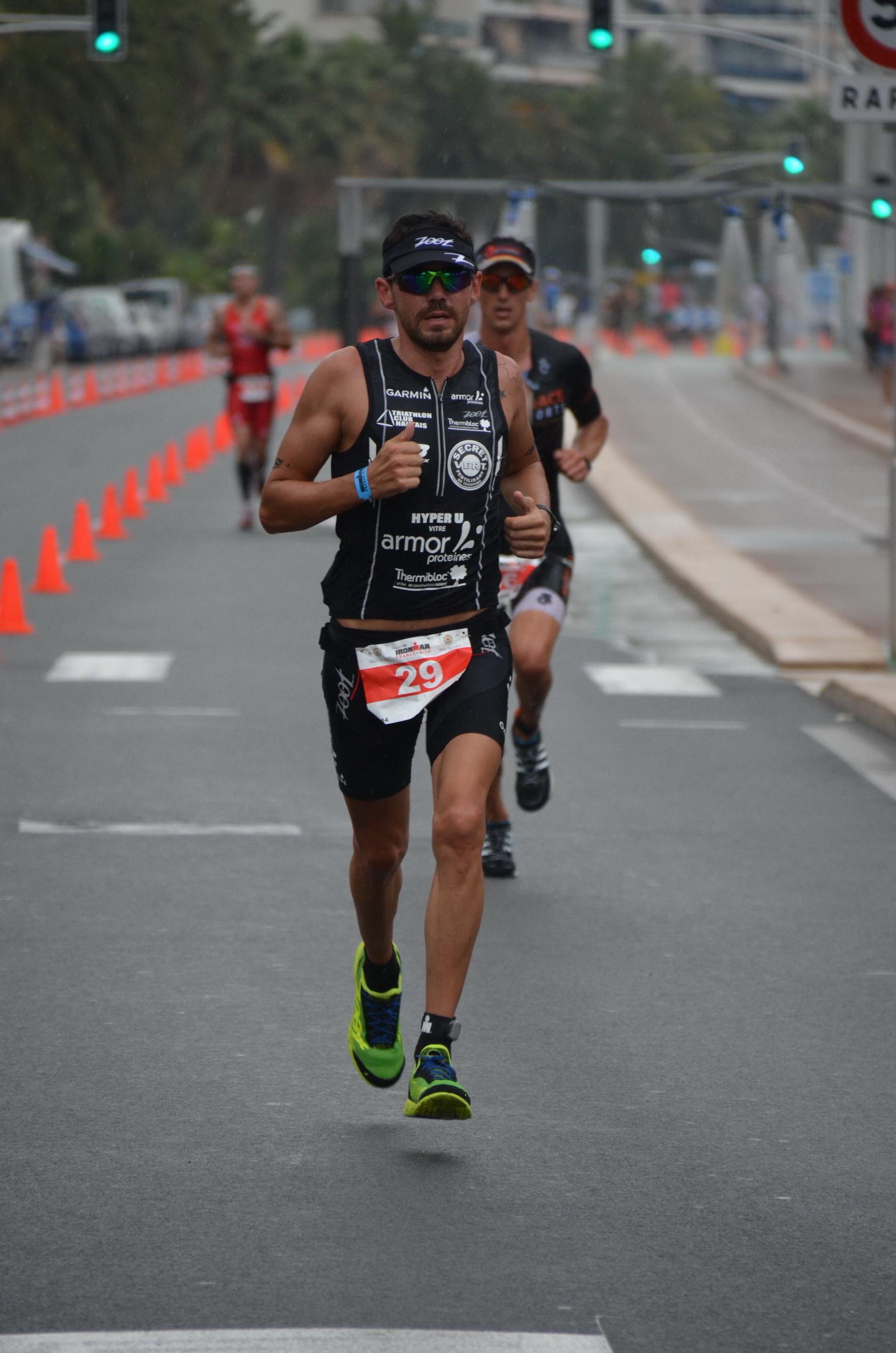 José Jeuland à l'Ironman de Nice