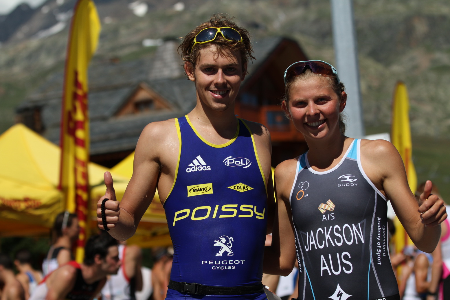 Newsletter triathlon EDF Alpe d'Huez : Courte distance