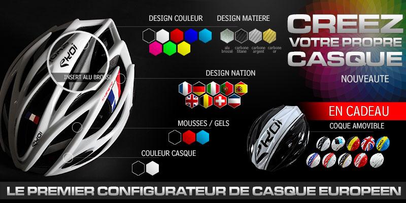 EKOI lance le premier configurateur de casque du marché !