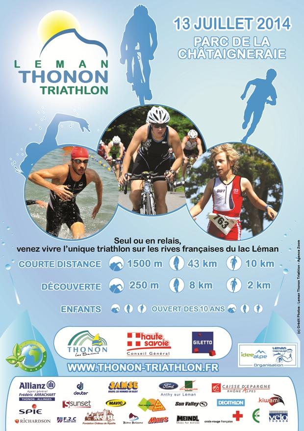 Le Léman Triathlon Club compte sur votre présence dimanche pour la 5e édition du Léman Thonon Triathlon !