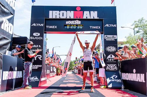 1er IRONMAN de Boulder: premier titre sur IM pour les vainqueurs du jour !!!