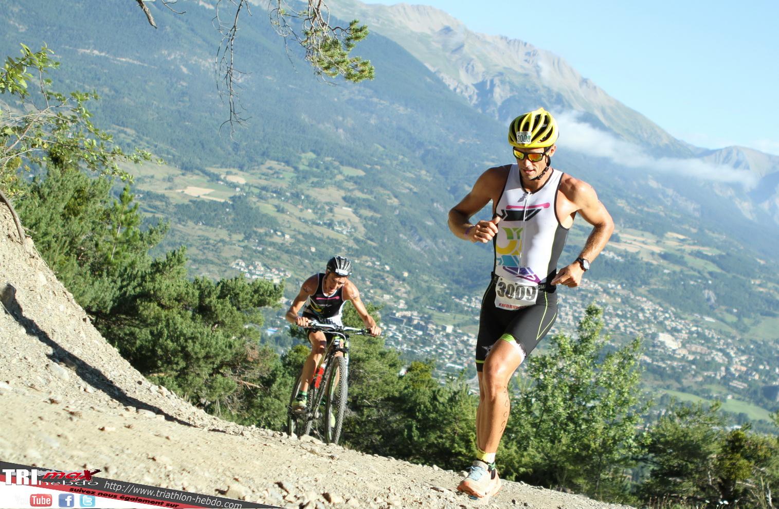 Embrun : un run&bike sélectif était au programme !