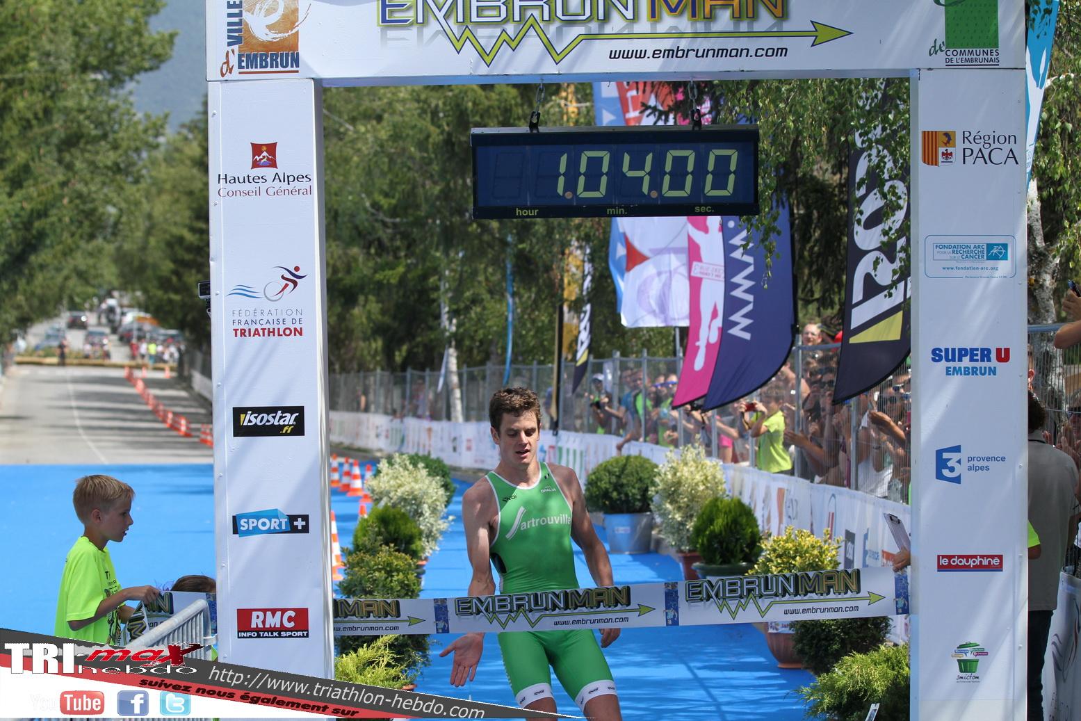 GP Hommes à Embrun : Jonathan Brownlee et Sartrouville…