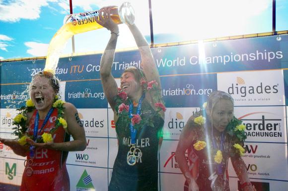 2014 Zittau ITU Cross Triathlon World Championships : Rufaza et Müller vainqueurs