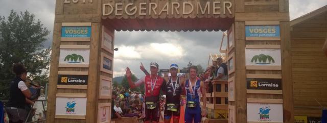 Triathlon de Gérardmer 2014 : Sylvain Sudrie vainqueur du triathlon XL