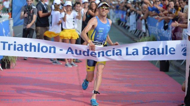 Triathlon Audencia La Baule 2014 : Yohann Vincent remporte le distance M