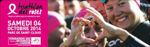Triathlon des Roses : protégeons les femmes que nous aimons !
