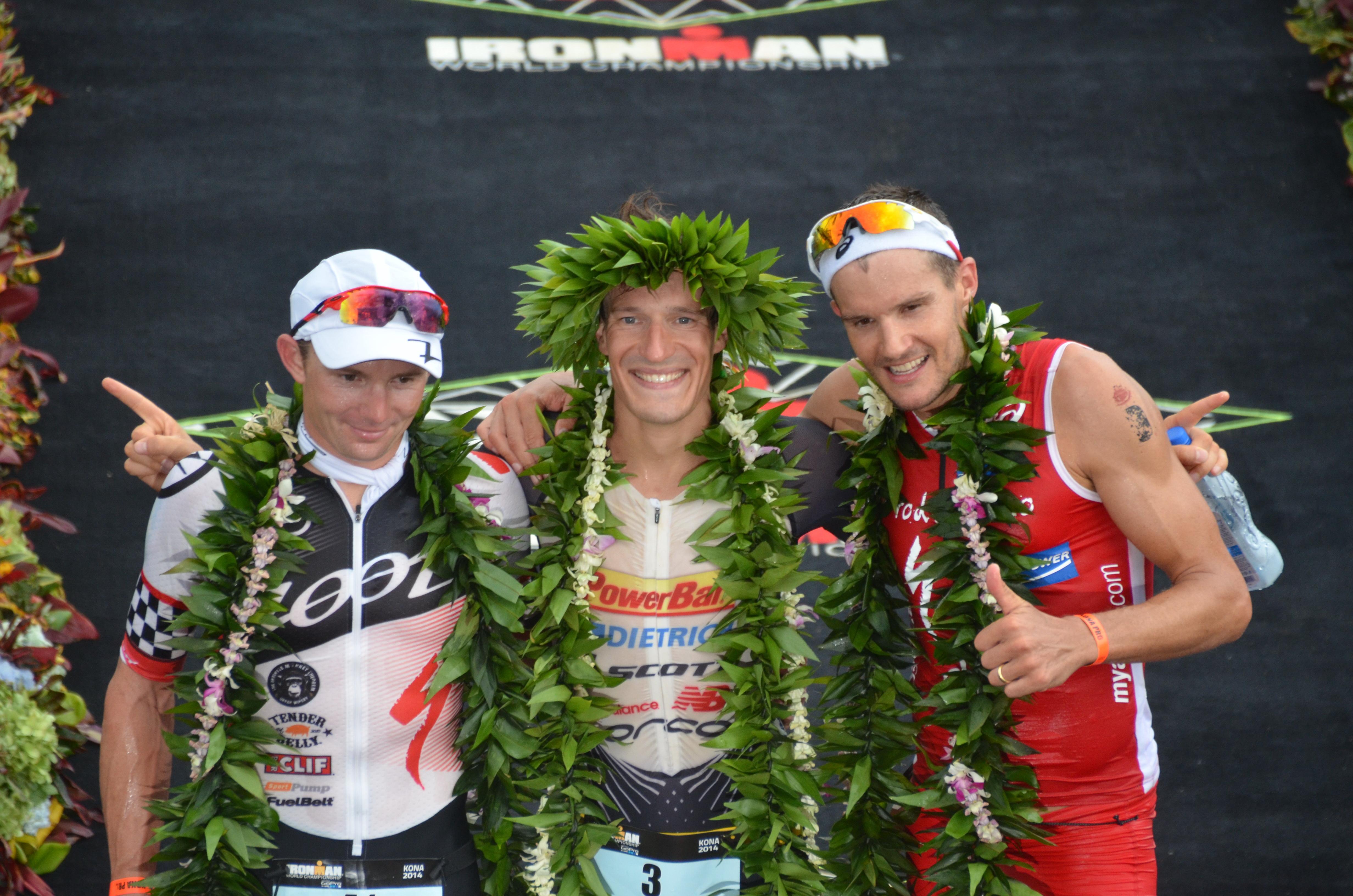 Kienle et Carfrae remportent le titre de champion du Monde IRONMAN 2014