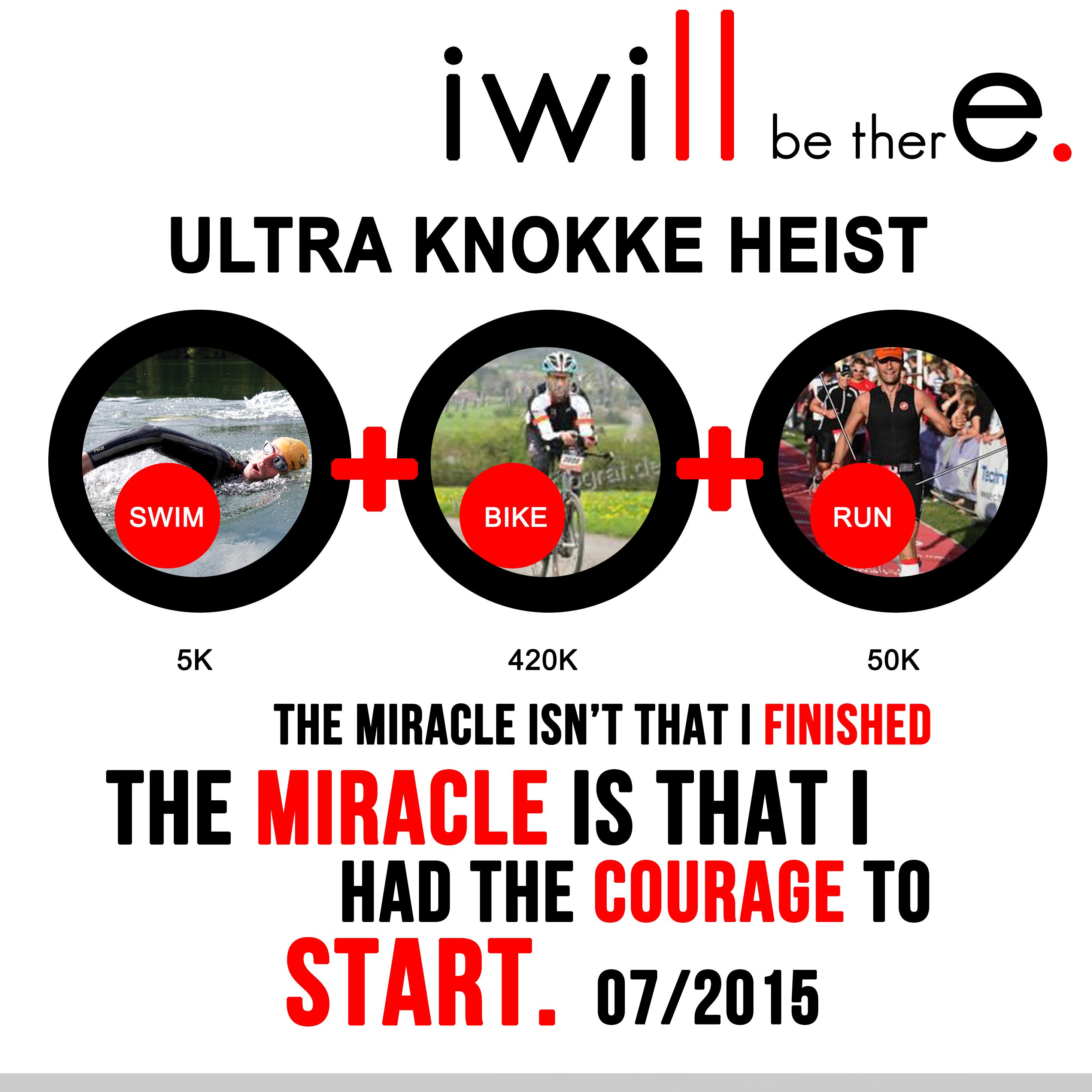 Arnaud de Meester, se lance un nouveau défi, l'Ultra Knokke Heist – rendez-vous pris début juillet 2015 !