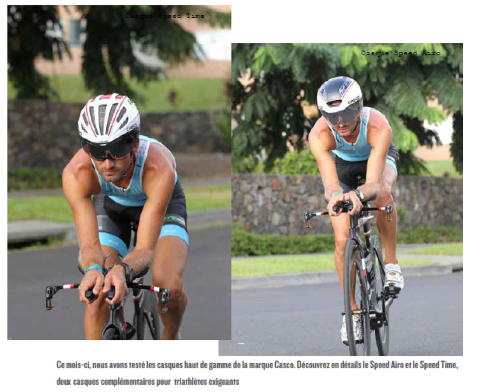 TEST MATERIEL : Speed Airo & Speed Time by CASCO