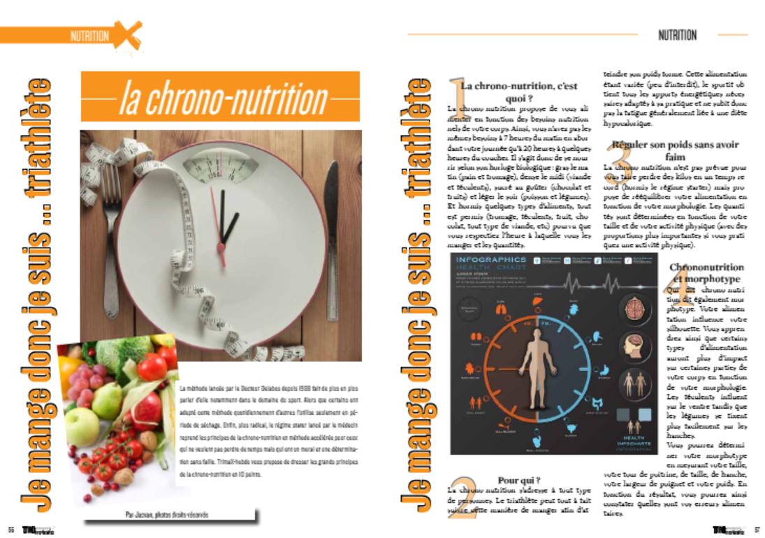 A lire dans TrimaX#137 : Je mange donc je suis … la chrono-nutrition