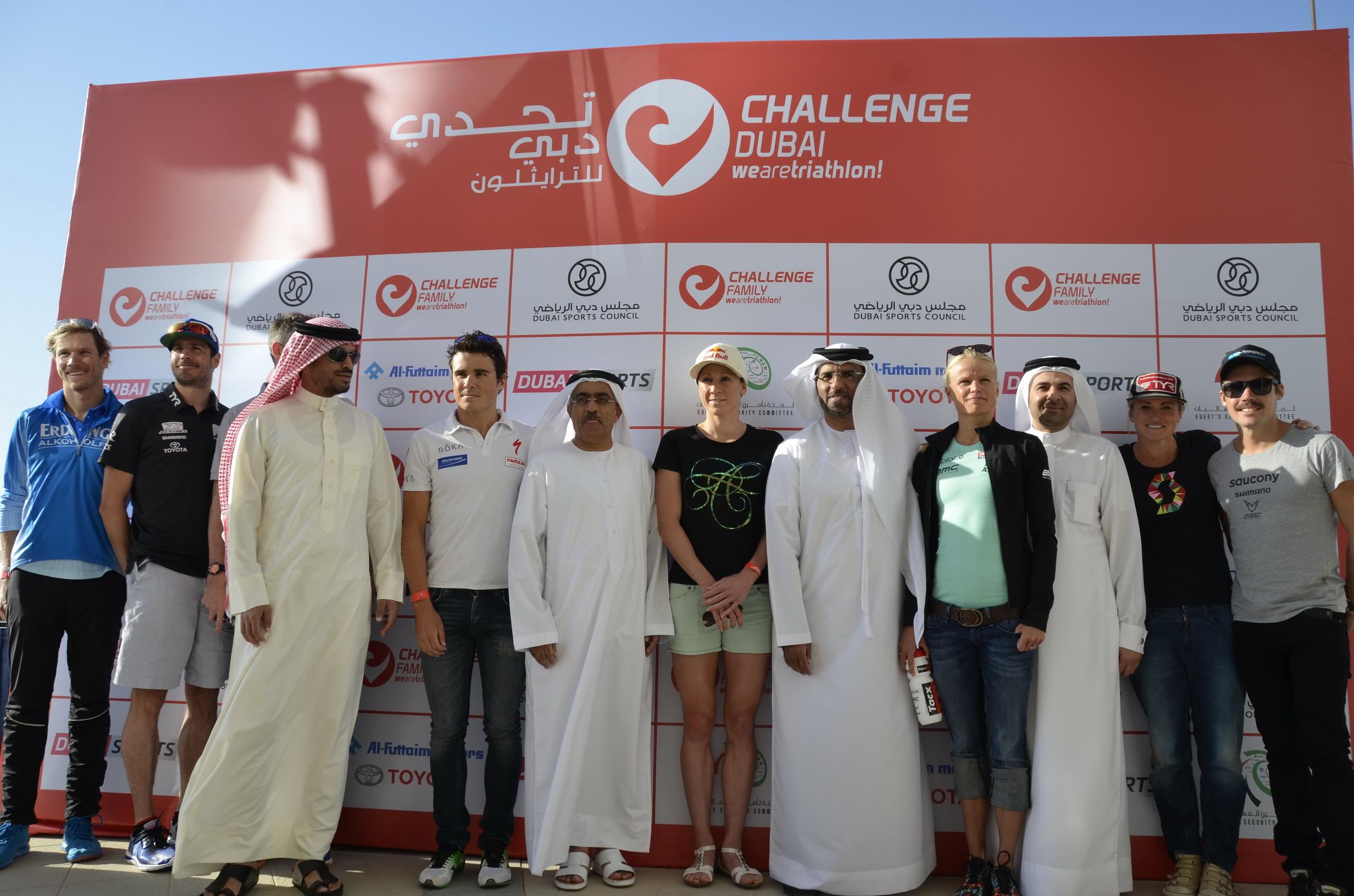 Challenge Dubaï: C'est parti !
