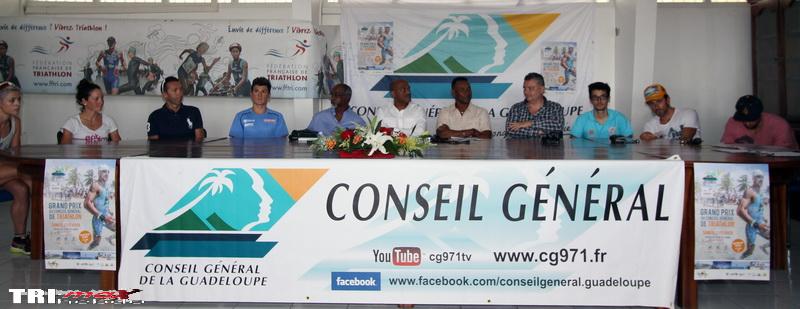 J-1 avec le Gwadelouptri devenu le Grand Prix du Conseil général