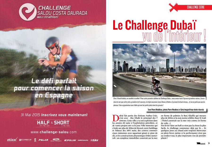 Le Challenge Dubaï vu de l'intérieur !… c'est ce mois-ci dans TrimaX#138