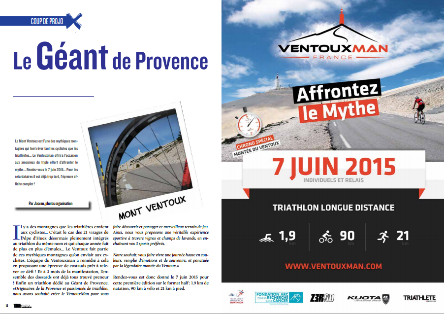 Le Géant de Provence… à découvrir dans TrimaX#138