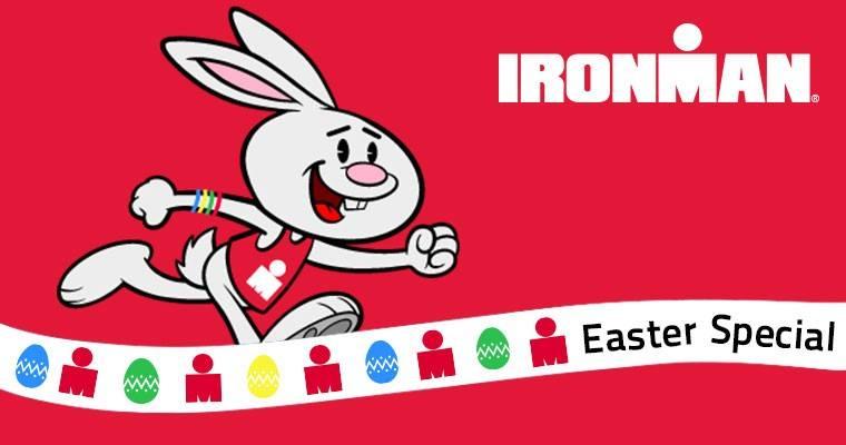 IRONMAN VICHY: Pour fêter Pâques, le lapin IRONMAN a une offre pour vous.