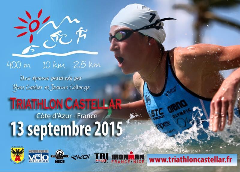 Triathlon de Castellar : Rendez-vous le 13 septembre