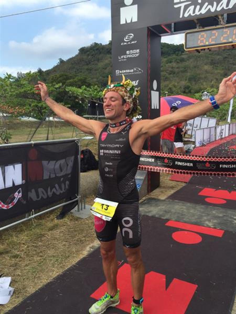 Ironman Taïwan: les résultats