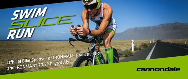 """Cannondale partenaire officiel de l""""ironman France et de l'Ironman 70.3 d'Aix en Provence"""
