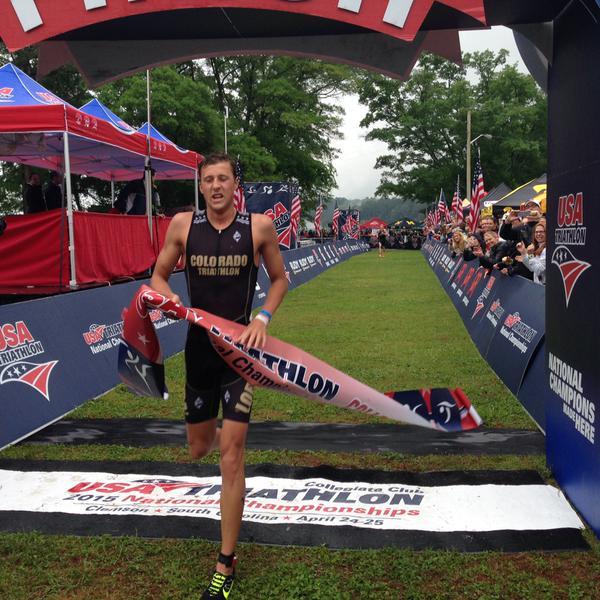 Rodolphe «Rudy» von Berg Champion universitaires des Etats Unis …pour la 2ème fois consécutive.