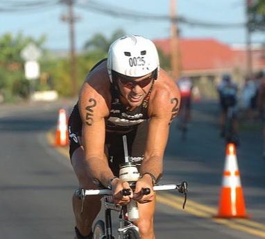 Patrick Vernay rechausse les baskets le temps d'un triathlon