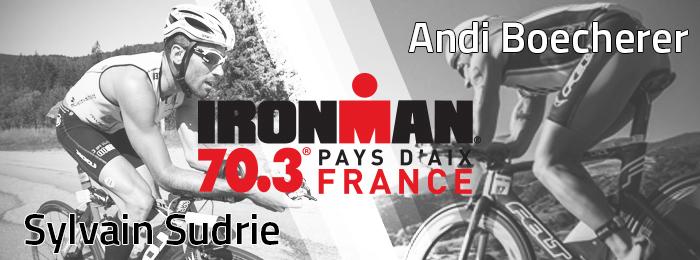 Sylvain Sudrie et Andi Boecherer seront à l'IRONMAN 70.3 Pays d'Aix