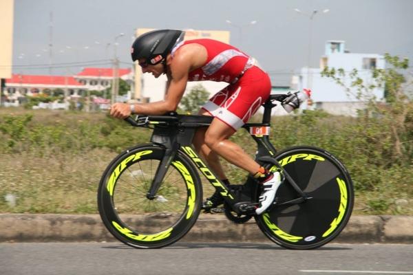 IRONMAN 70.3 Vietnam : Cyril au pied du podium !