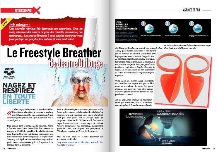 L'astuce de pro de TrimaX#140 : Le Freestyle Breather de Jeanne Collonge de Jeanne Collonge